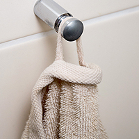 Moderner Handtuchhalter